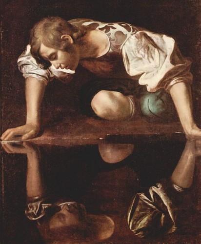 Le Caravage - Narcisse