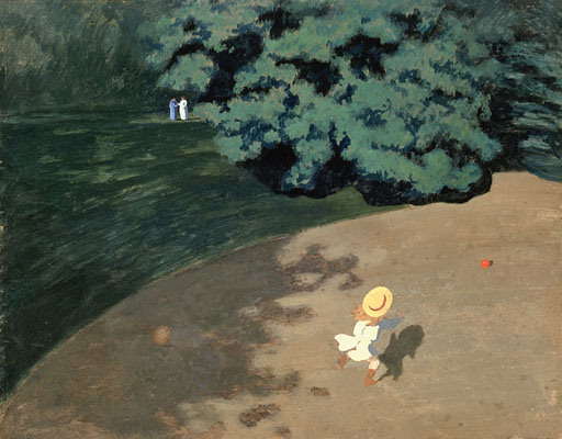 Felix Vallotton - Le ballon