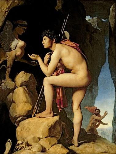 Ingres - Énigme du Sphinx